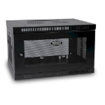 Tripp Lite SRW6U SmartRack 6U Wall Mount Mini Rack Enclosure, Low-Profile, Switch-Depth