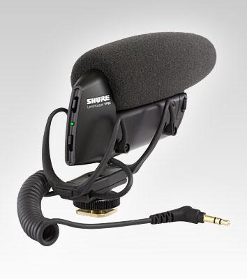 Shure VP83 microphone Digital camera microphone Black