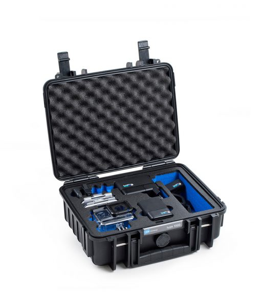 B&W 1000/B/GOPRO5 camera case Hard case Black