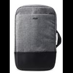 """Acer NP.BAG1A.289 notebook case 35.6 cm (14"""") Backpack Black, Grey"""