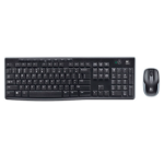 LOGITECH MK270R Wireless Keyboard and Mouse Combo 2.4GHz Wireless Compact Long Battery Life 8 Shortcut keys ~