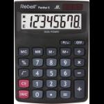 Rebell Panther 8 calculator Desktop Basic Black
