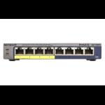 Netgear GS108PE Managed Gigabit Ethernet (10/100/1000) Power over Ethernet (PoE) Black