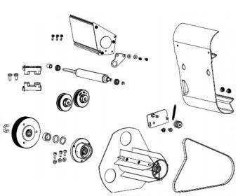 Zebra P1083347-021 printer kit