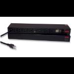 APC Switched Rack 1.8kVA Black power distribution unit (PDU)