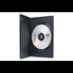 Ednet 64048 optical disc case DVD case 1 discs Black