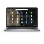 "DELL Latitude 7410 2 in 1 Hybrid (2-in-1) 14"" 1920 x 1080 pixels Touchscreen 10th gen Intel® Core™ i5 8 GB DDR4-SDRAM 128 GB SSD Wi-Fi 6 (802.11ax) Chrome OS Gray"