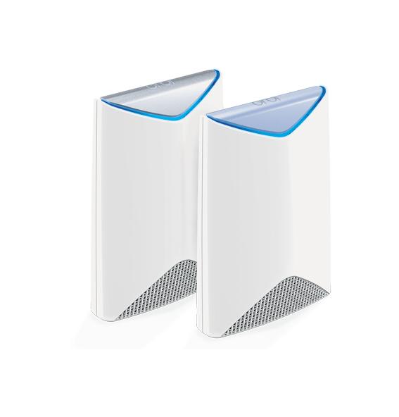 Netgear Orbi Pro Tri-Band Business WiFi System + 5x Orbi Pro Ceiling Add-on Satellite wireless router Tri-band (2.4 GHz / 5 GHz / 5 GHz) Gigabit Ethernet White