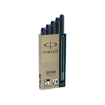 Parker Quink Fountain Pen Refills Cartridges Blue/Black PK5