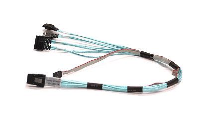 Supermicro Ipass SATA cable 0.5 m Multicolor