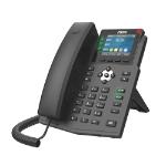 Fanvil X3U IP phone Black 6 lines LCD Wi-Fi