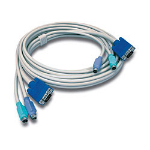 Trendnet TK-C10 KVM cable 3.1 m Grey
