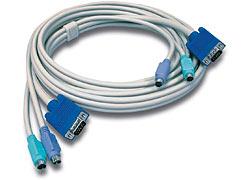 Trendnet TK-C10 KVM cable 3.1 m Grey