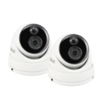 Swann SWPRO-5MPMSDPK2-UK security camera IP security camera Indoor & outdoor Dome White