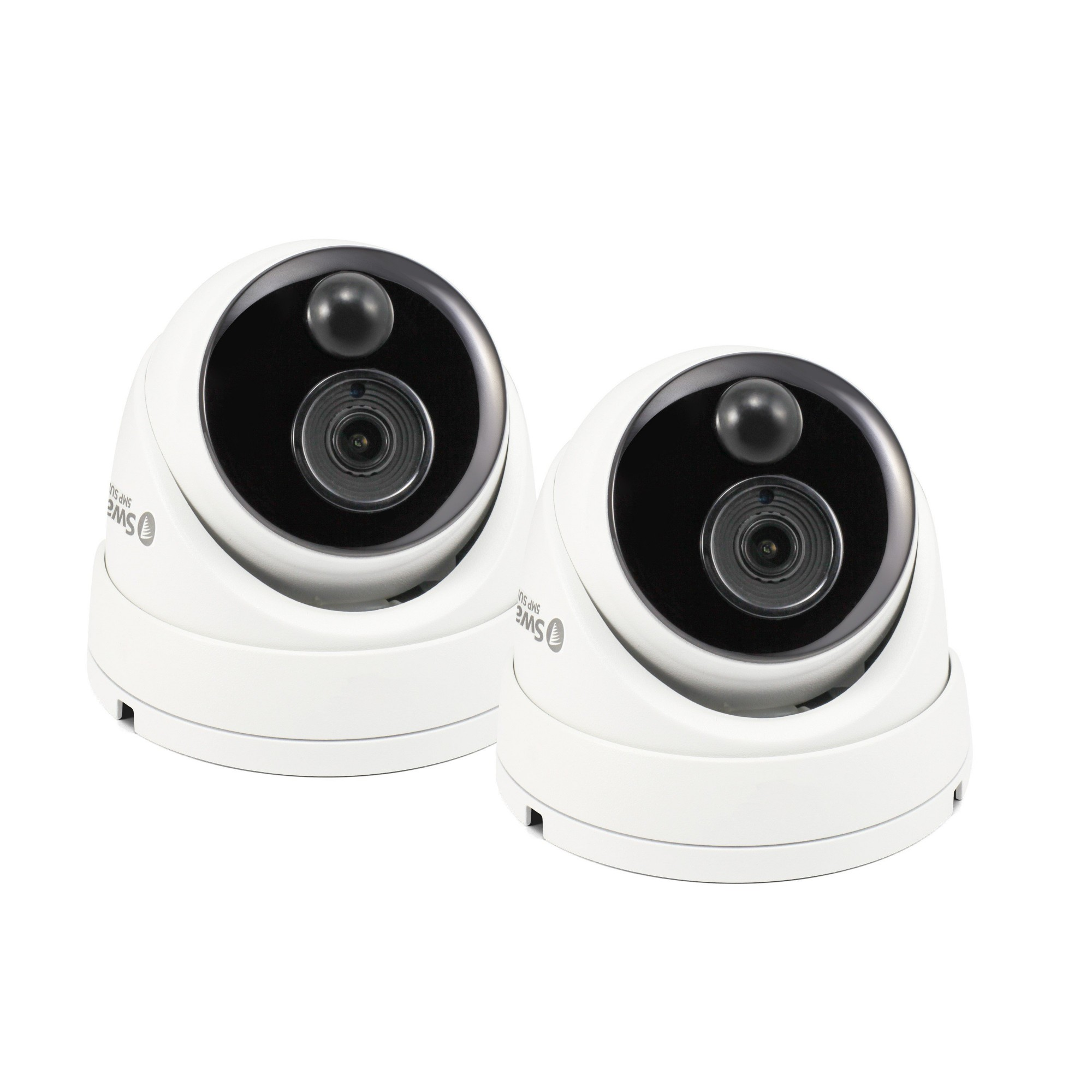 Swann SWPRO-5MPMSDPK2 5MP Super HD Dome Security IR Cameras IP66 Twin Pack