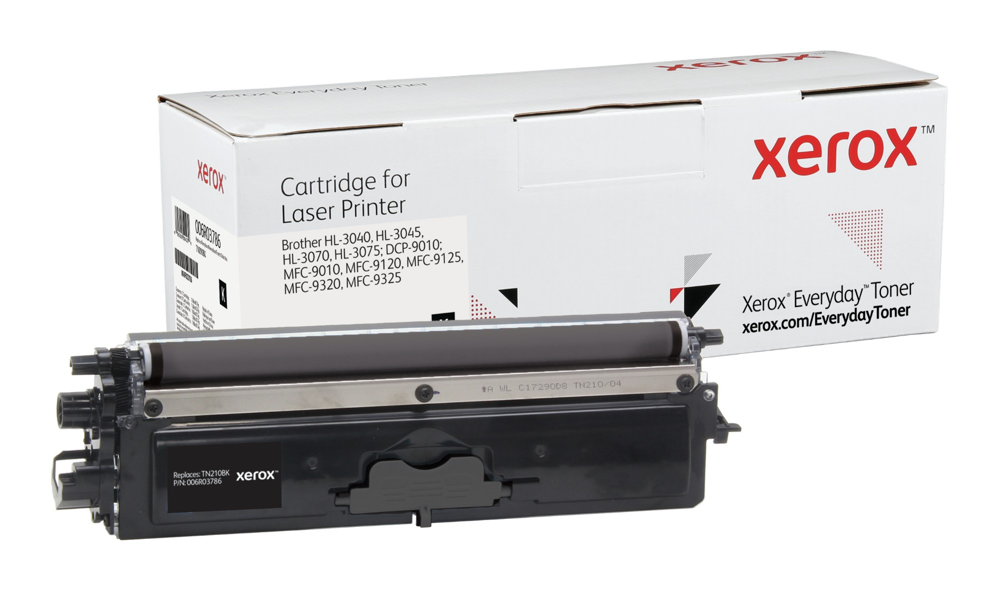 Xerox Tóner de Rendimiento estándar Negro Everyday, Brother TN230BK equivalente de , 2200 páginas