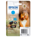Epson Squirrel Singlepack Cyan 378XL Claria Photo HD Ink