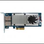 QNAP LAN-10G2T-X550 Internal Ethernet 10000Mbit/s networking card