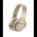 Sony h.ear on 2 Wireless NC Circumaural Head-band Gold