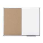 Nobo Classic Combination Board Cork/Painted Steel 1200x900mm whiteboard