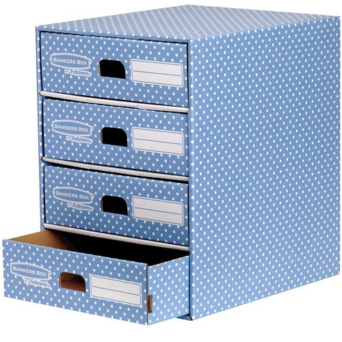 Fellowes 4482301 desk drawer organizer Paper Blue