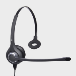 JPL 611PM Monaural Head-band Black headset