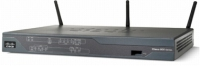 Cisco 888 Fast Ethernet Black wireless router
