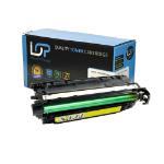 Click, Save & Print Remanufactured HP CE262A Yellow Toner Cartridge