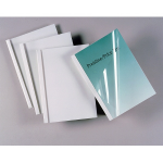 GBC Standard Thermal Binding Covers 3mm White (100)
