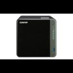 QNAP TS-453D NAS Tower Ethernet LAN Black J4125 TS-453D-4G/24TB-N300