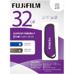 Fujifilm 32GB USB 2.0 WR 32GB USB 2.0 Purple USB Flash Drive