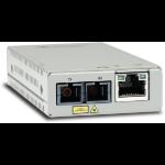 Allied Telesis AT-MMC200/SC-960 network media converter 100 Mbit/s 1310 nm Multi-mode Gray