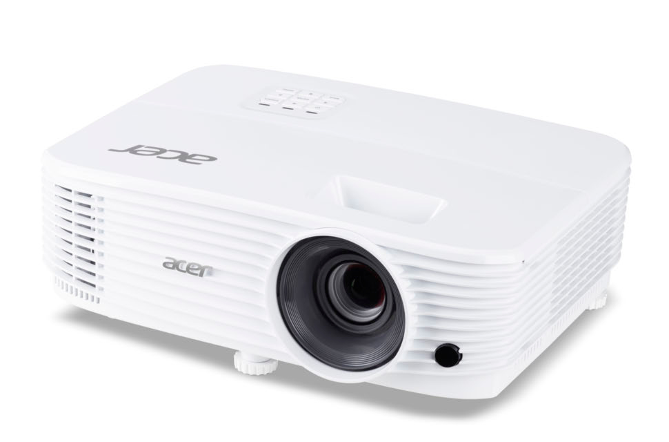 Acer P1255 data projector 4000 ANSI lumens DLP XGA 1024x768 Ceiling-mounted projector White