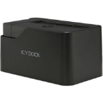 Icy Dock MB981U3-1SA notebook dock/port replicator Black