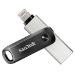 Sandisk SDIX60N-128G-GN6NE unidad flash USB 128 GB 3.2 Gen 1 (3.1 Gen 1) Gris, Plata