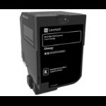 Lexmark 74C2HKE Toner black, 20K pages
