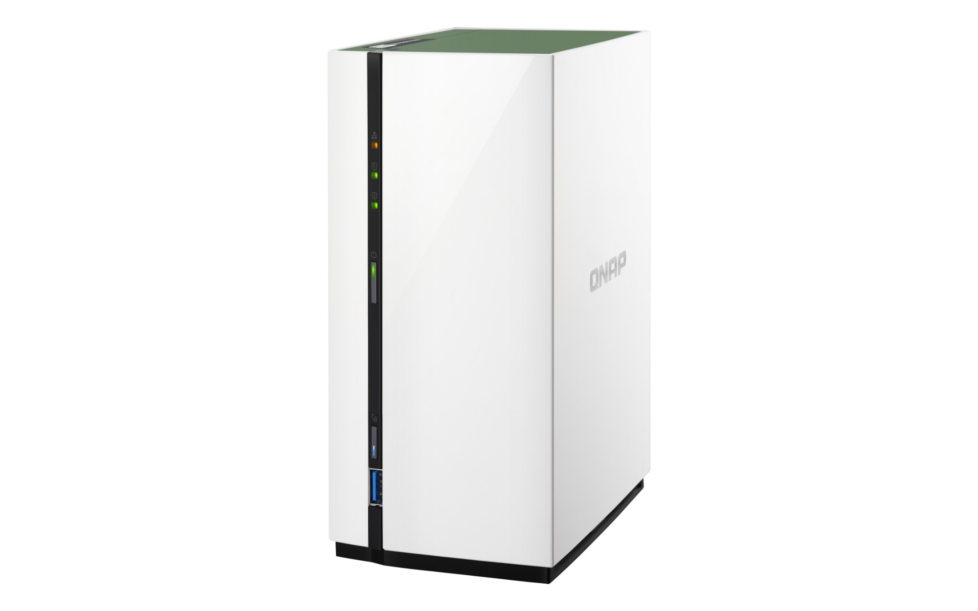 QNAP TS-228A 12TB 2x6TB Seagate IronWolf 2 Bay NAS Desktop Ethernet LAN Mini Tower White