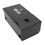Tripp Lite N492-WM2-BK Wall-Mount Fiber Optic Distribution Enclosure, 2-Panel Capacity