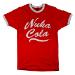 FALLOUT Men's Nuka Cola Logo T-Shirt, Medium, Red (GE1748M)