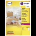 Avery L7166-250 self-adhesive label White 1500 pc(s)