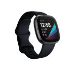 Fitbit Sense AMOLED Graphite GPS (satellite)