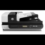 HP Scanjet Enterprise Flow 7500 Flatbed-/ADF-scanner 600 x 600 DPI A4 Zwart, Wit