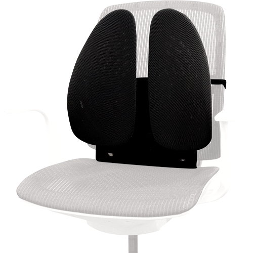 Fellowes 8026401 chair back support Black