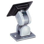 """Newstar Tilt/Turn/Rotate Monitor Mount for use with FPMA-DTB100/FPMA-DTB200/FPMA-WTB100 Toolbars - for single 10-30"""" Screen - Silver"""