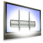 "Ergotron WM Low Profile Wall Mount 65"" Silver flat panel wall mount"