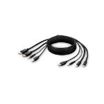"Belkin F1DN2CCBL-MP10T KVM cable 118.1"" (3 m) Black"
