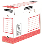 Fellowes 4474102 file storage box Paper Red,White