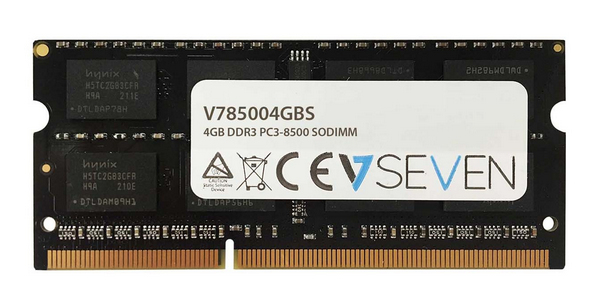 V7 V785004GBS geheugenmodule 4 GB DDR3 1066 MHz