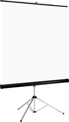 Euroscreen Tripod Connect - 200cm x 200cm - 1:1 - Tripod Projector Screen