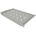 "Intellinet 19"" Cantilever Shelf, 1U, Shelf Depth 300mm, Vented, Grey"